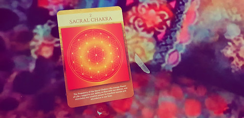 Card Reading for Wednesday 8th May 2019 / Sacred Geometry Activations - Sacral Chakra