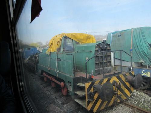 "Preserved Sentinel 0-6-0DH 10180 ""Tom"" 30032019"