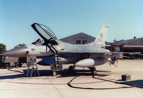 F-16C 86-0234 MI 107FS MI ANG
