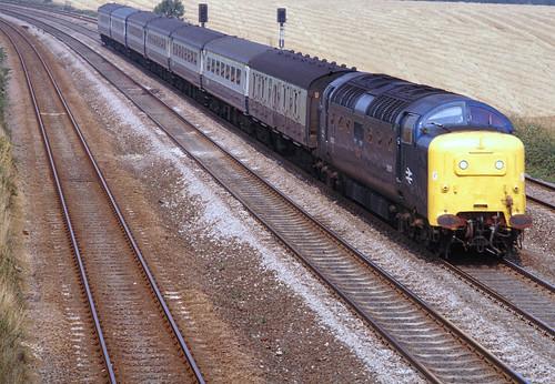 Swayfield 55003 York to Kings X Sept 81 J7579