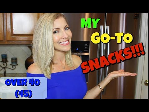 My Go-To SNACKS ~ Thin and Fit Over 40 (45) ~ How I Maintain My Body Weight