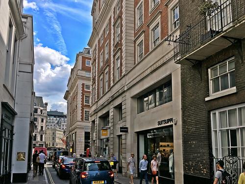 Vigo Street, London