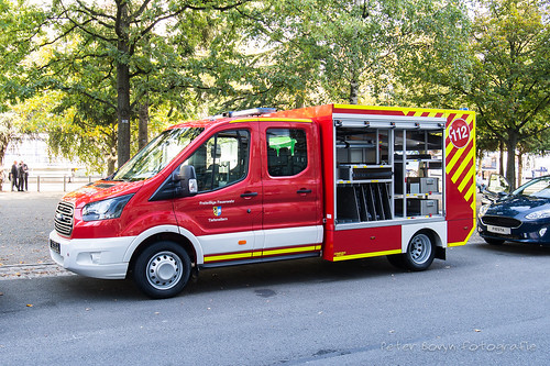 Ford Transit Double Cab Feuerwehr 'Tiefenellern'
