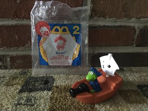 1996 Retro McDonald's Happy Meal - Muppet Treasure Island (TOY 2 - Kermit the Frog)