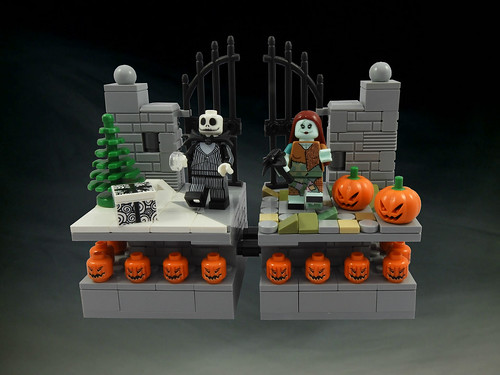 Jack and Sally - 8x8 Vignettes