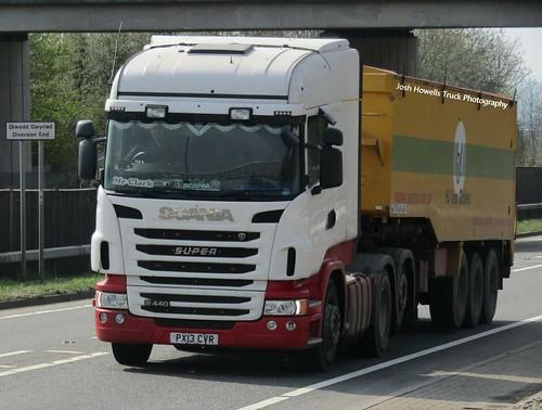 F W Johnson PX13 CVR at Welshpool (Ex Eddie Stobart)