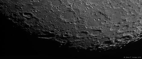 Lunar Landscape Panorama
