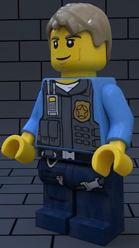 LEGO Chase McCain -Lego City Undercover
