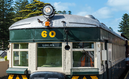 Brill 75 Class Diesel Railcar Number 60, Victor Harbor Station, South Australia