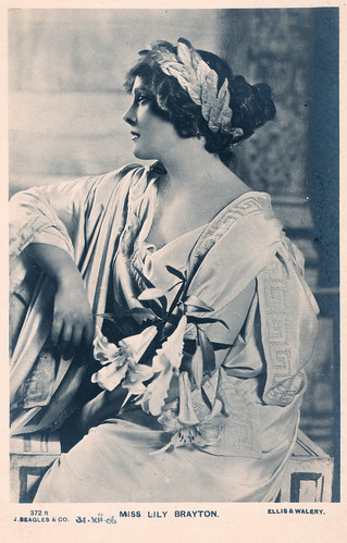 Miss Lily Brayton Prior to 1906. And a Deadly Train Crash.