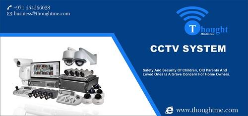 CCTV System Installation in Dubai, UAE.