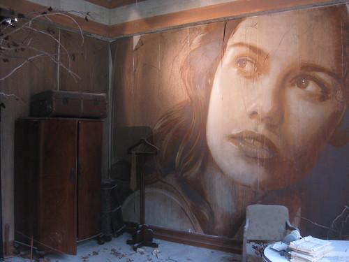 The His Room Portrait of Lily Sullivan - Rone Empire Installation Exhibition; Burnham Beeches, Sherbrooke