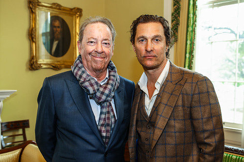 Matthew McConaughey and Boz Scaggs