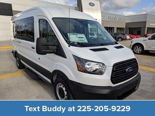 Brand New 2019 Ford Transit 350 XL 15-Passenger Medium Roof Van.
