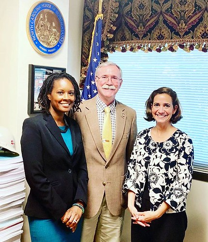 This week Prevent Child Abuse NC's Policy Director Karla Buitrago and Dr. Sherika Hill, a faculty member in the Department of Psychiatry and Behavioral Sciences at @dukeuniversity's School of Medicine and a research scientist at the Frank Porter Graham Ch