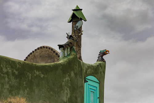 The Phoenix - Earthship Biotecture - Near Taos, New Mexico