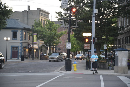 Random computer-carrying individual in Oregon District