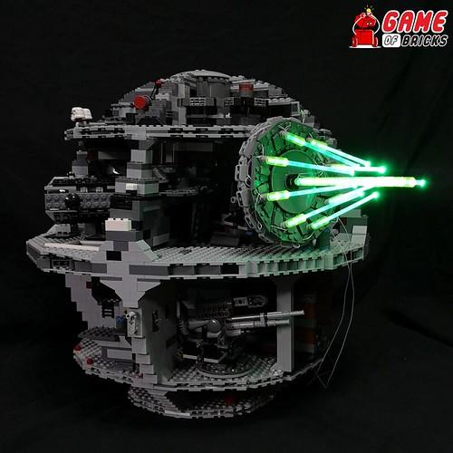 LEGO Death Star Light Kit