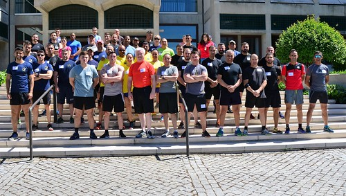 Regional Security Office Lisbon celebrates National Police Week with a Fun Run, May 15, 2019.