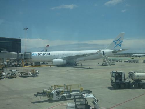 Barcelona Airport - Air Transat