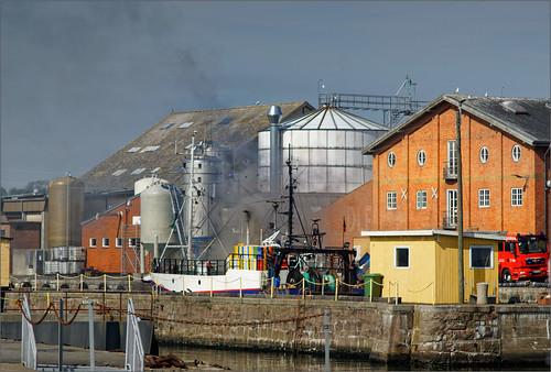 UST 155 Havarie im Nexø Havn 21.5.19