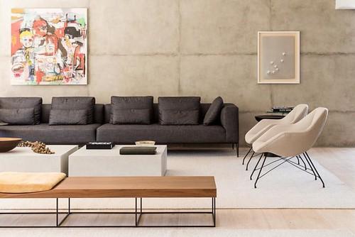 Sofás modernos: 80 modelos cheios de estilo e conforto para a sala