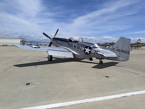 TF-51D Mustang 44-84655 167th FS West Virginia ANG