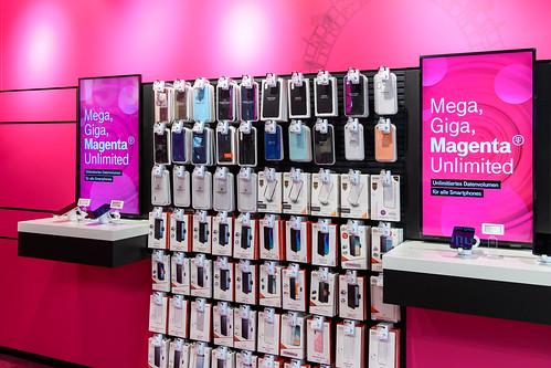 Magenta Telekom und Samsung Innovation Shop