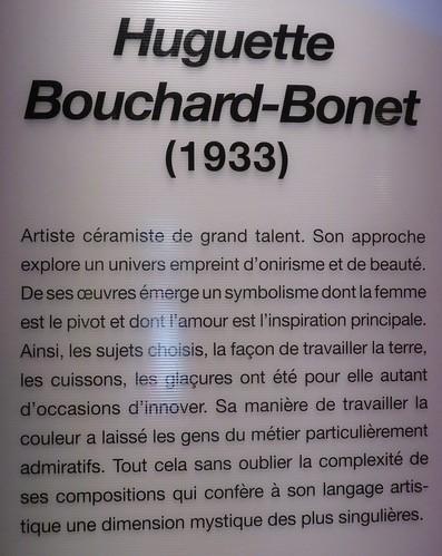Huguette Bouchard-Bonet, céramiques, Expo Ellipses, Centre d'art Diane-Dufresne, Repentigny