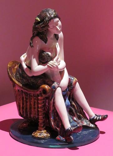 Sans titre (Huguette Bouchard-Bonet, céramique), Expo Ellipses, Centre d'art Diane-Dufresne, Repentigny