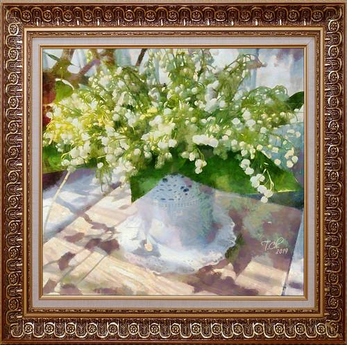 Букет ландышей / Bouquet de muguet / Lily of the valley bouquet