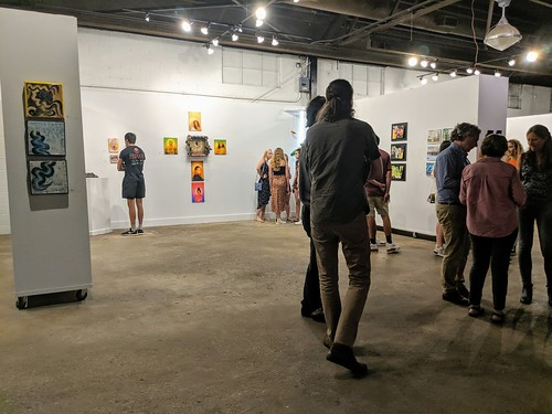 IMG_20190517_211046~2 2019-05-17 COMPENDIUM 19 Grady High School art Notch8 Gallery Atlanta