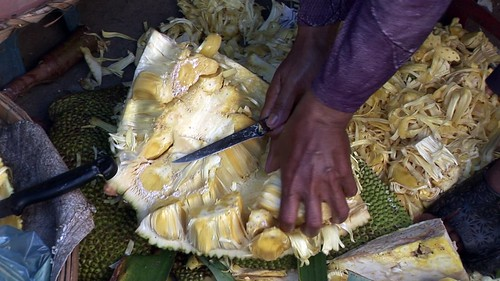 Cambodia - Phnom Penh - Market - Jackfruit - 76