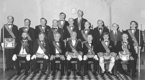 Arbroath Lodge 299 installation 1989