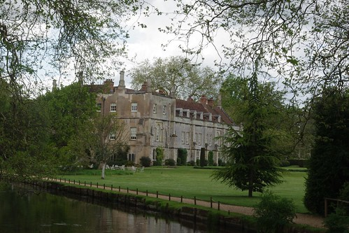 19-346  Mottisfont Abbey seen from across the River Test
