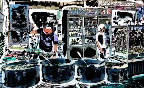Cambodia - Phnom Penh - Restaurant - 11ee