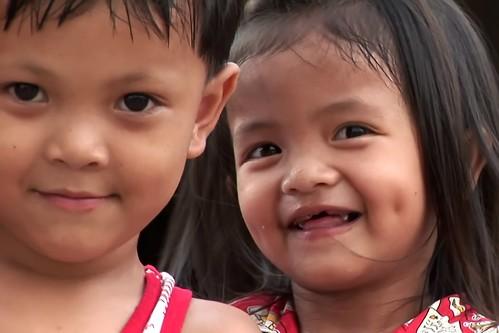 Cambodia - Market - Young Children - 97