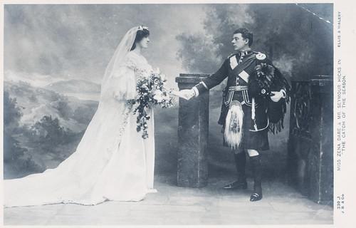 Miss Zena Dare and Mr. Seymour Hicks in 1904
