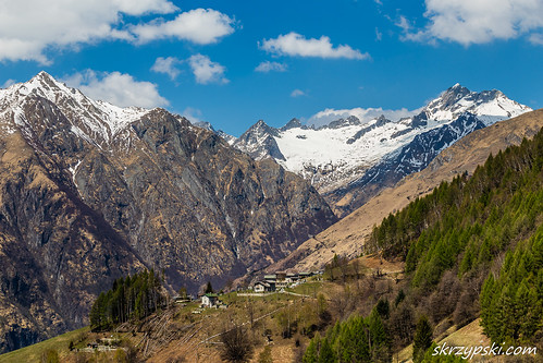 Mountaiscape of Lepontine Alps