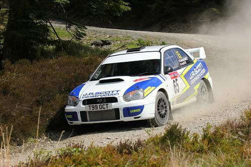Plains Rally 2019 - Car 65 - Subaru Impreza
