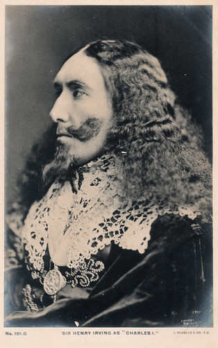 Sir Henry Irving as Charles I