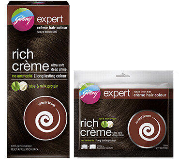 DIY Hair Color at Home with Safe Godrej Expert Rich Crème Hair Color