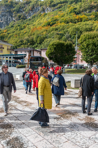 La Cordata visit to Longarone, October 2018