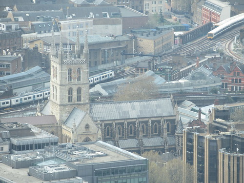 Cathedral and Collegiate Church of St Saviour and St Mary Overie (Southwark Cathedral), Sky Garden, Walkie-Talkie (20 Fenchurch Street), City of London