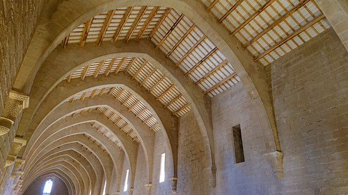 Poblet Monastery - The Monks' Dormitory