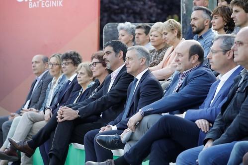 20190522 Mitin Donostia. Eneko Goia, Eider Mendoza, Markel Olano, Iñigo Urkullu, Andoni Ortuzar 0006