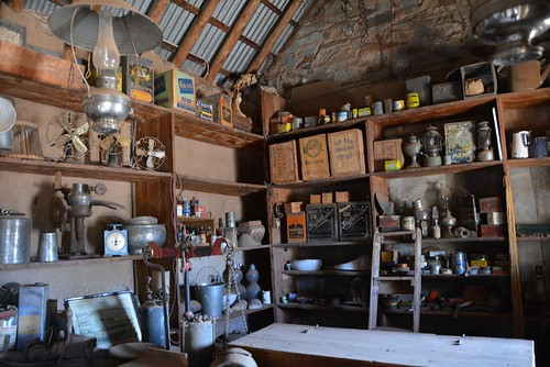Artefacts in the Holowiliena Station Store, Southern Flinders Ranges South Australia