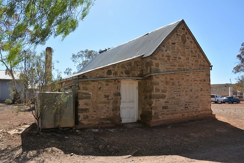 Holowiliena Station Office door beside the Store, Southern Flinders Ranges South Australia