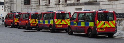 Met Police Diplomatic Protection Group - BU12 AXS - BX12 KFJ - BX13 DFC - BX13 DTN
