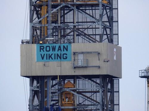 "Jack-Up Rig ""Rowan Viking"""